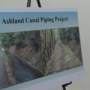 Public Works Department gets public input about the Ashland Canal Piping Project