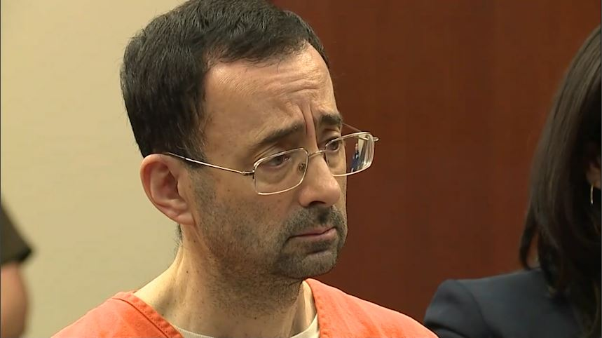 Dr. Larry Nassar is charged with molesting seven girls under the guise of treatment at his home and a campus clinic. (CNN Newsource)
