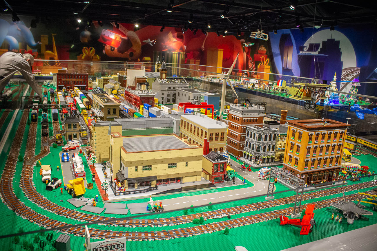 <p>The LEGO gallery is laden with pop culture references and silly situations that could keep you scanning the display for house uncovering new finds. You'll also spot some familiar Cincy landmarks among the fantastical scenes, too. / Image: Katie Robinson, Cincinnati Refined // Published: 11.8.19</p>