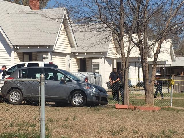 Police say a man was shot three times outside a home near East Archer and North College Monday.  Three suspects were seen heading south on College toward the Broken Arrow Expressway. (KTUL)
