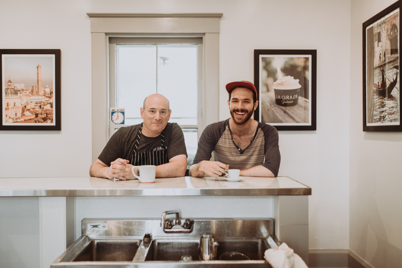 John Berman (owner) and Alex Evans (barista) / Image: Brianna Long // Published 5.24.18 <br>