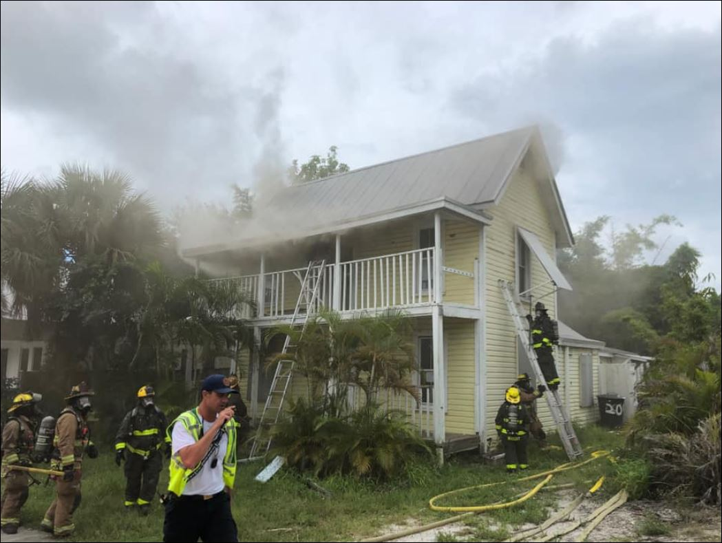 House fire in Fort Pierce. (St. Lucie County Fire District)