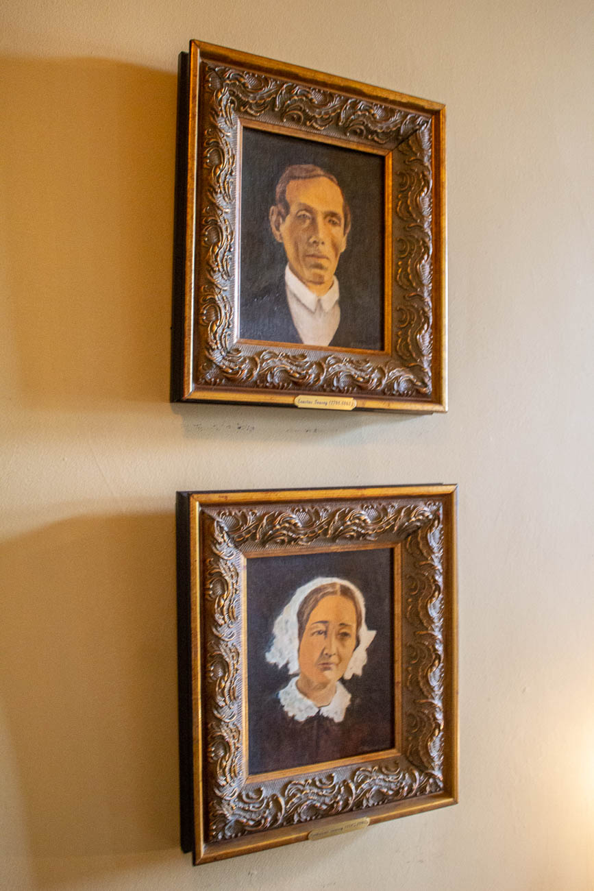 Photos of original Tousey House owners, Erastus & Catherine Tousey / Image: Katie Robinson, Cincinnati Refined // Published: 11.11.19