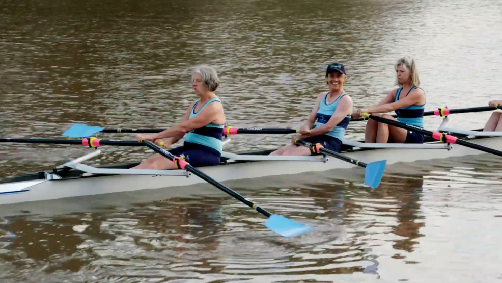 Mary in Melbourne: Rowing