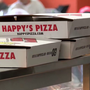 Happy's Pizza provides dinner at Cherry Street's Life Revitalization Center