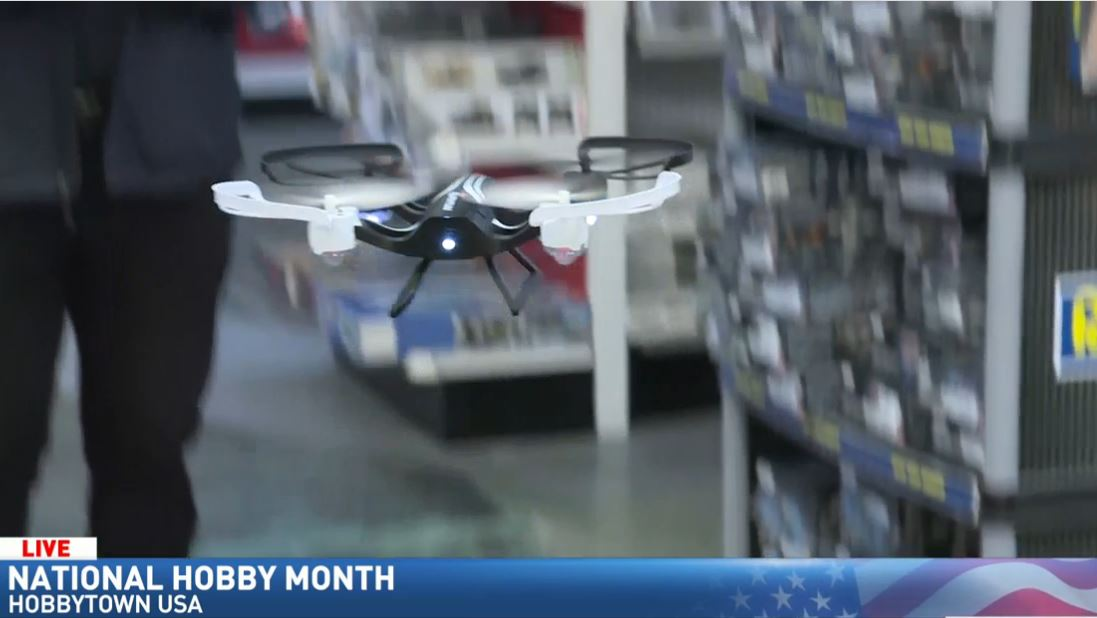 Jim visits HobbyTown USA for National Hobby Month