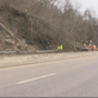 Landslide closes portion of Route 7 in Belmont County