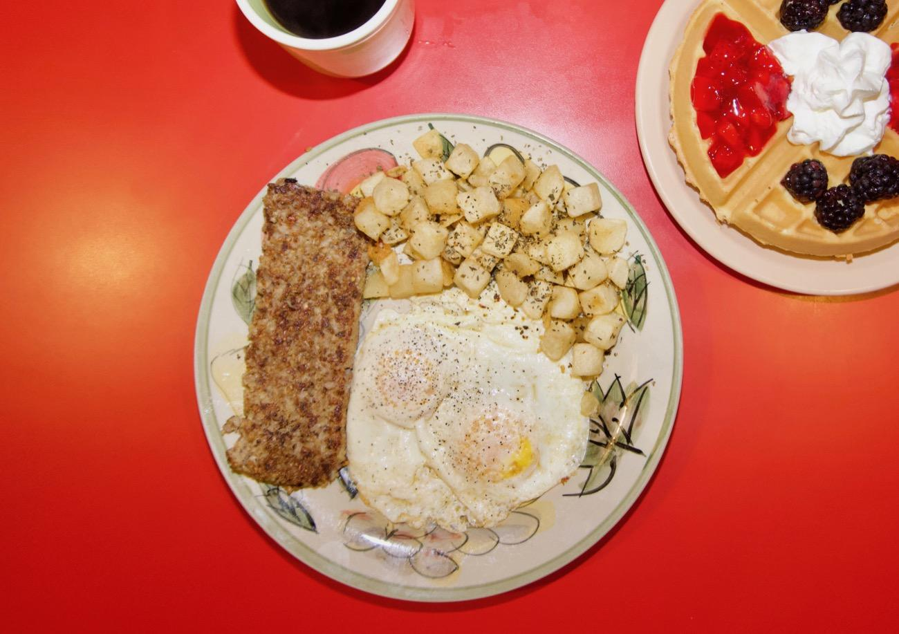 <p>Cock-a-doodle Dayton: Two eggs any style, goetta, home fries, and toast / Image: Brian Planalp // Published: 8.15.18</p><p></p>