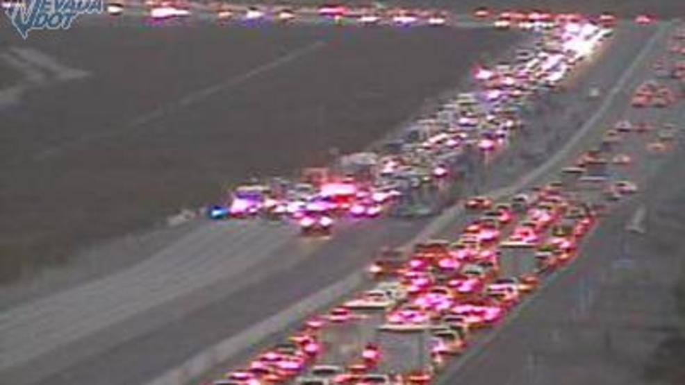 Accident on I-15 near Primm causes major traffic delays | KSNV