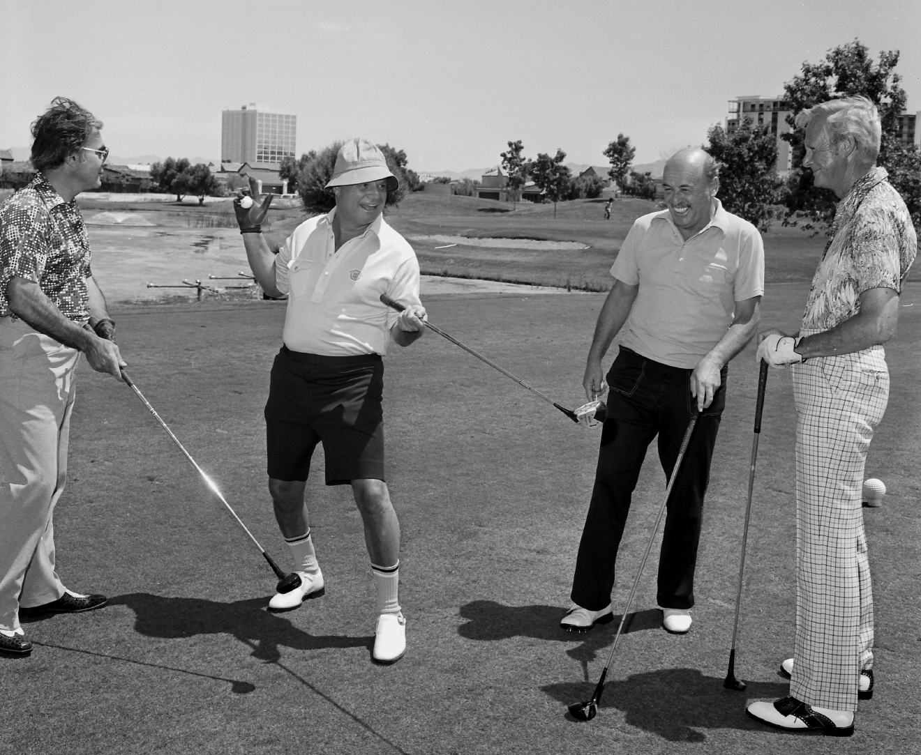 Don Rickles at the Las Vegas Country Club on May 16, 1979. [Las Vegas News Bureau file photo]