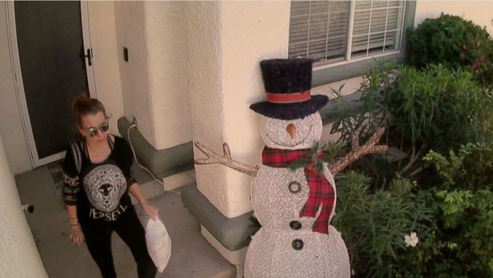 Real-life Grinch caught on camera stealing Christmas gift in northwest valley