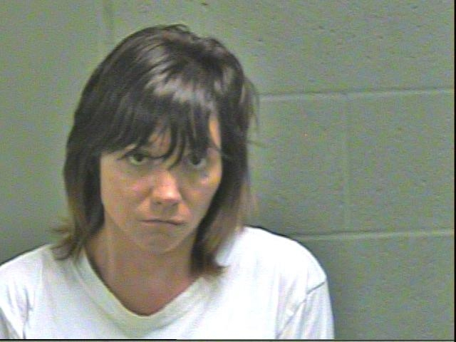 Mandee Hanna, 37, was arrested in Oklahoma City on complaints of using access to computers, offering to engage in an act of prostitution and possession of a CDS without a valid prescription. (Oklahoma County Jail)