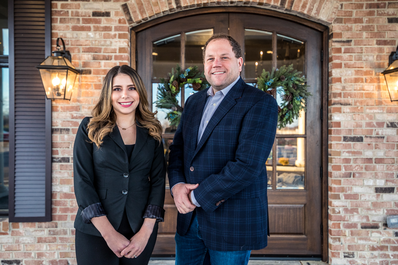 Nichole Ramsey (COO) and Chris Mann (owner and regional developer) / Image: Catherine Viox{ }// Published: 12.16.19