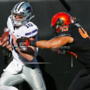 Thompson, Pringle lead Kansas St. past Oklahoma St. 45-40