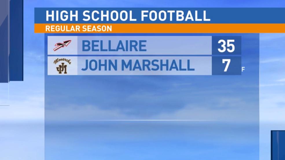 9.20.19 Highlights: Bellaire at John Marshall