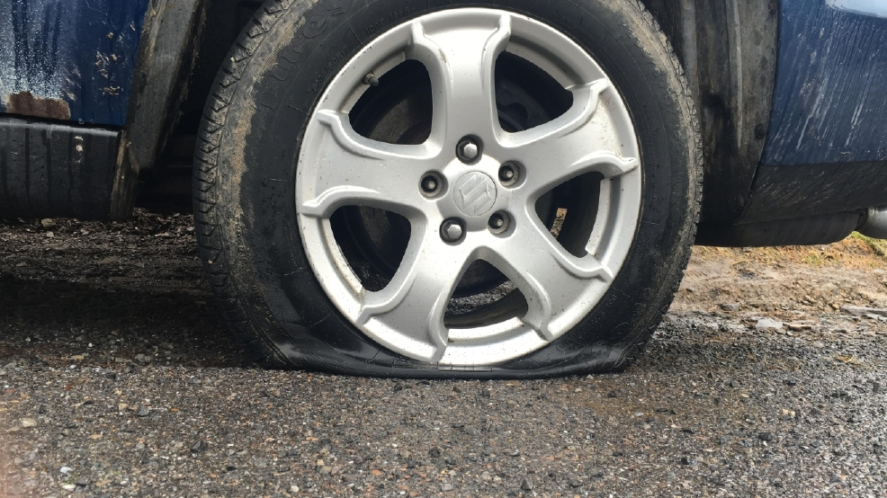 Police Searching For Vandals Who Slashed Tires On Nearly 20 Cars In
