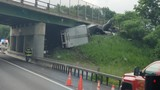 One dead, one hurt after tractor trailer crashes into bridge in Herkimer County