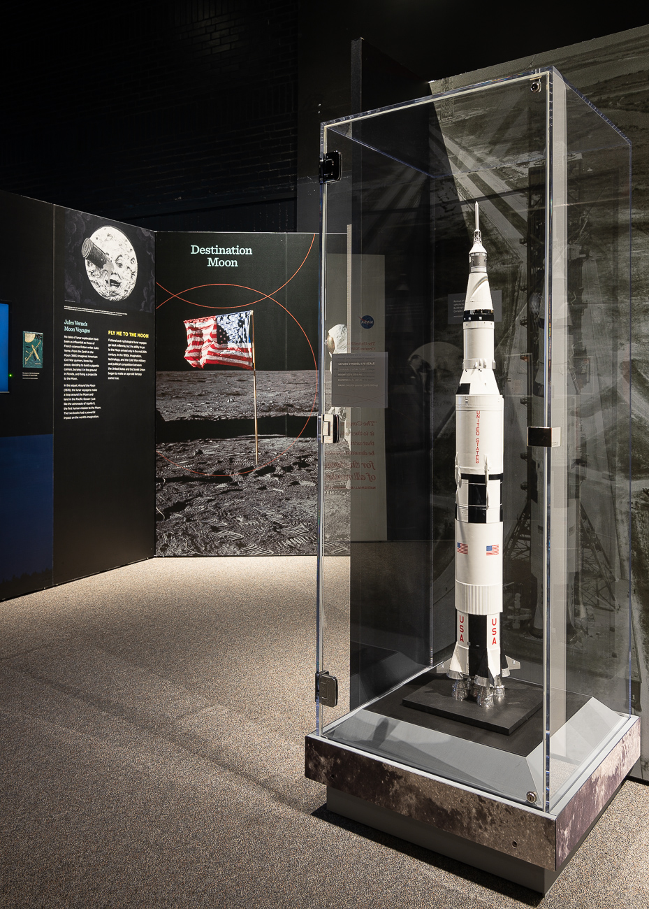 Neil Armstrong, Buzz Aldrin, and Michael Collins were the three astronauts who successfully completed the Apollo 11 mission. Armstrong and Aldrin stepped foot on the moon while Collins stayed in orbit in the command module. The three were regarded as heroes when they were recovered from the Pacific Ocean after returning to Earth. / Image: Phil Armstrong, Cincinnati Refined // Published: 10.2.19