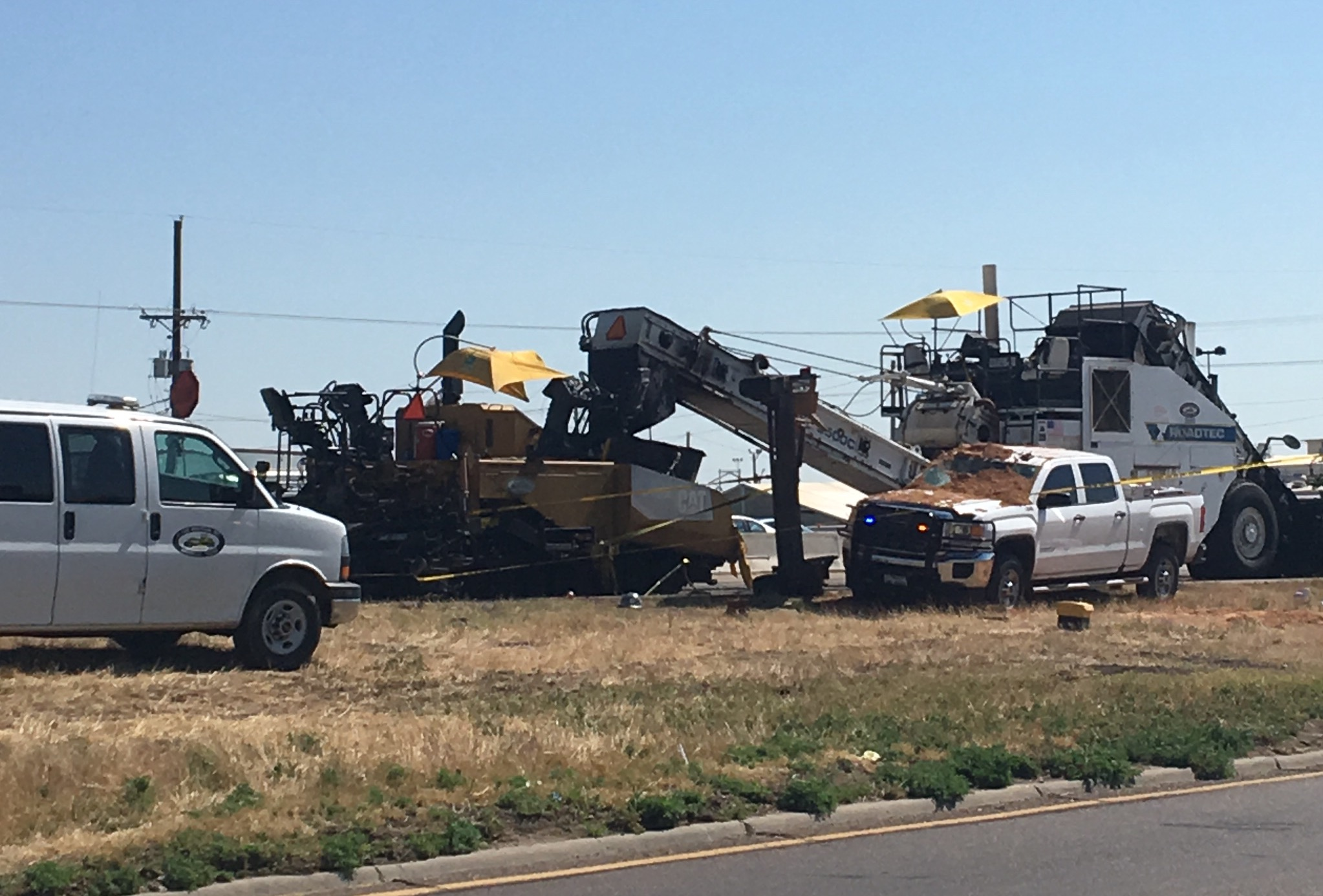 Amarillo police are investigating a major crash on I-40. (ABC 7 Amarillo - Kendra Hall)