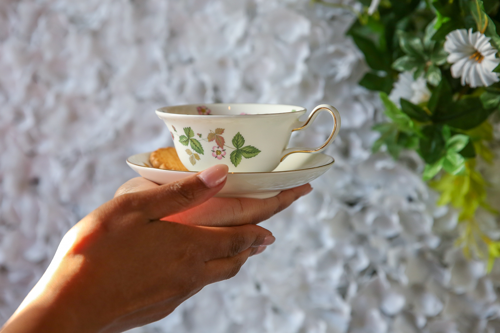 The Strawberry Cuppa may look delicate, but it's a scotch based and packs a punch.{ }(Amanda Andrade-Rhoades/DC Refined)