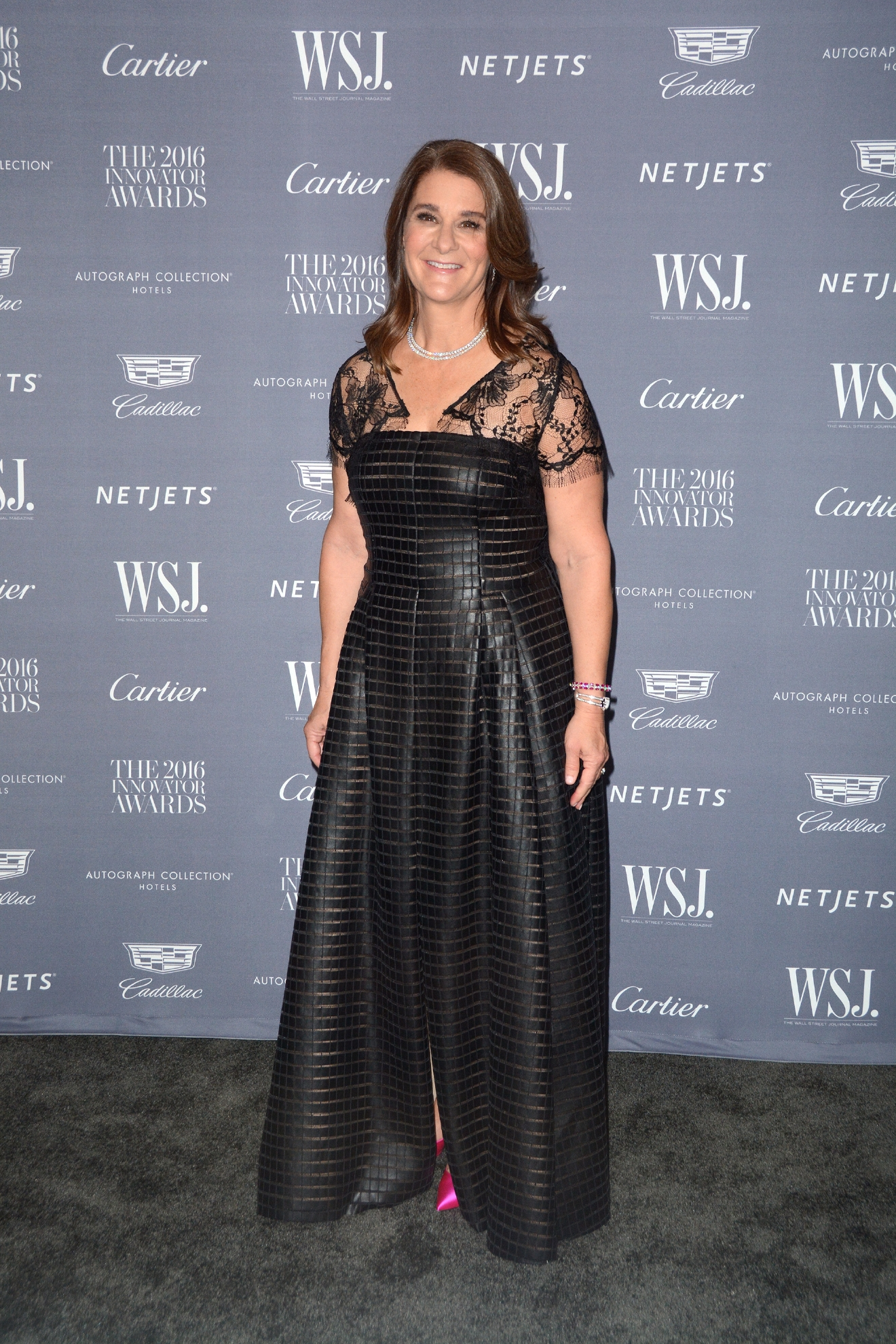 WSJ. Magazine 2016 Innovator Awards - Red Carpet Arrivals at Museum of Modern Art                                    Featuring: Melinda Gates                  Where: New York, New York, United States                  When: 02 Nov 2016                  Credit: Ivan Nikolov/WENN.com
