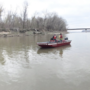 Sheriff investigating after man found tangled in fishing lines on Missouri River