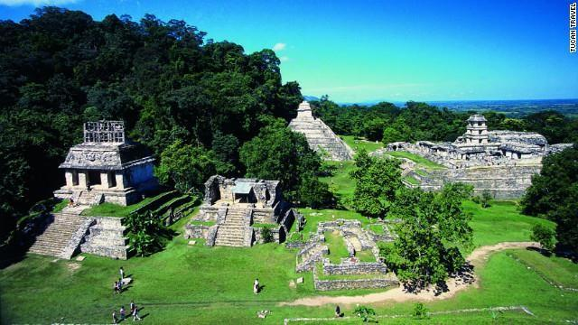 "Mayan pyramids pervade the eastern side of Mexico, but none are more breathtaking than those of Palenque in the far south. The jungle temple of this site inspired ""Raiders of the Lost Ark"""