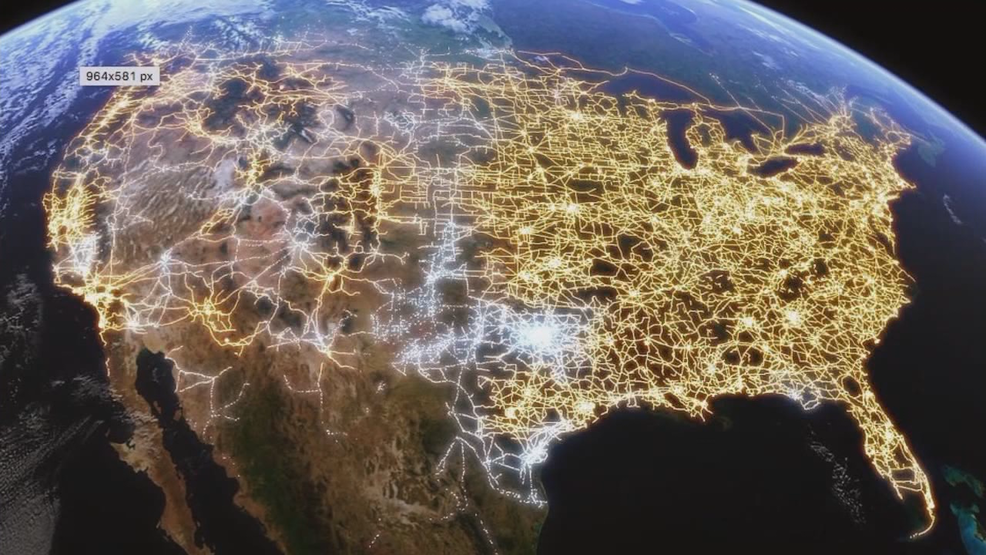 Interactive Map Visualizing The US Electric Grid US Power Grid - Us electric grid map
