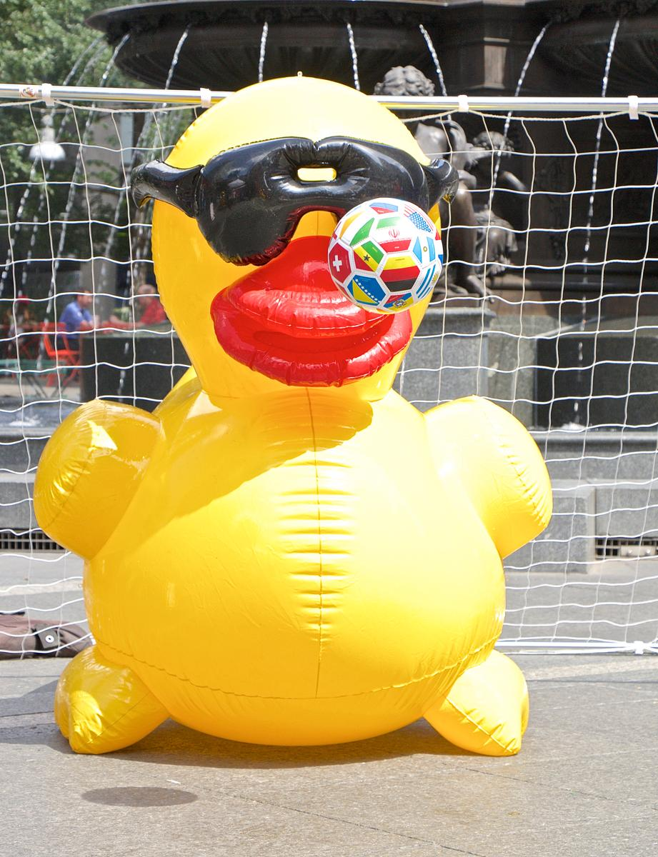 Photos Getting Quacky On Fountain Square Cincinnati Refined