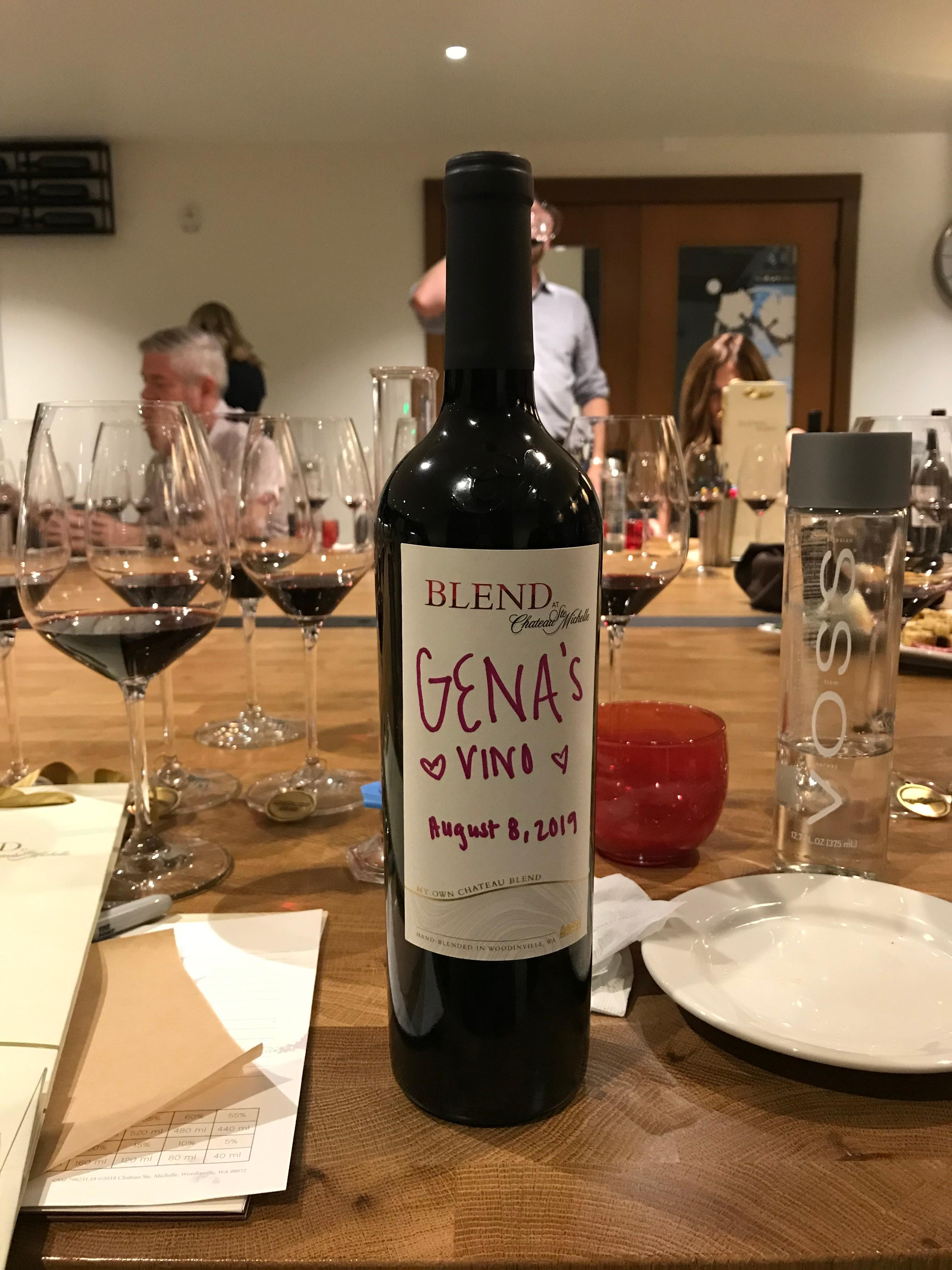 Gena's Vino, a truly original and very unique name... (Image: Gena Wynkoop / Seattle Refined).
