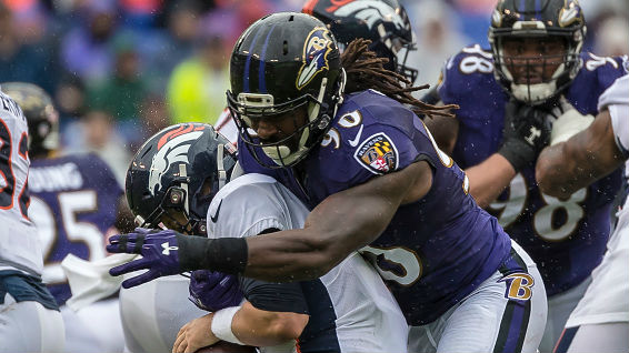 Za'Darius Smith led the Ravens with 8.5 sacks in 2018.