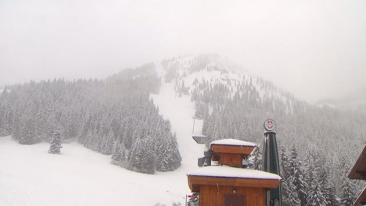 Photos from Crystal Mountain on Nov. 15, 2017 as they celebrate opening day (Photo: KOMO News)