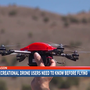 Drone pilots reminded to stay grounded during firefighting operations