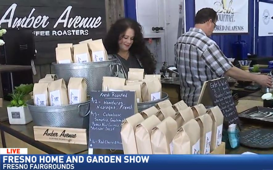 Amber Avenue Coffee Roasters Of Clovis At The Fresno Home And Garden Show