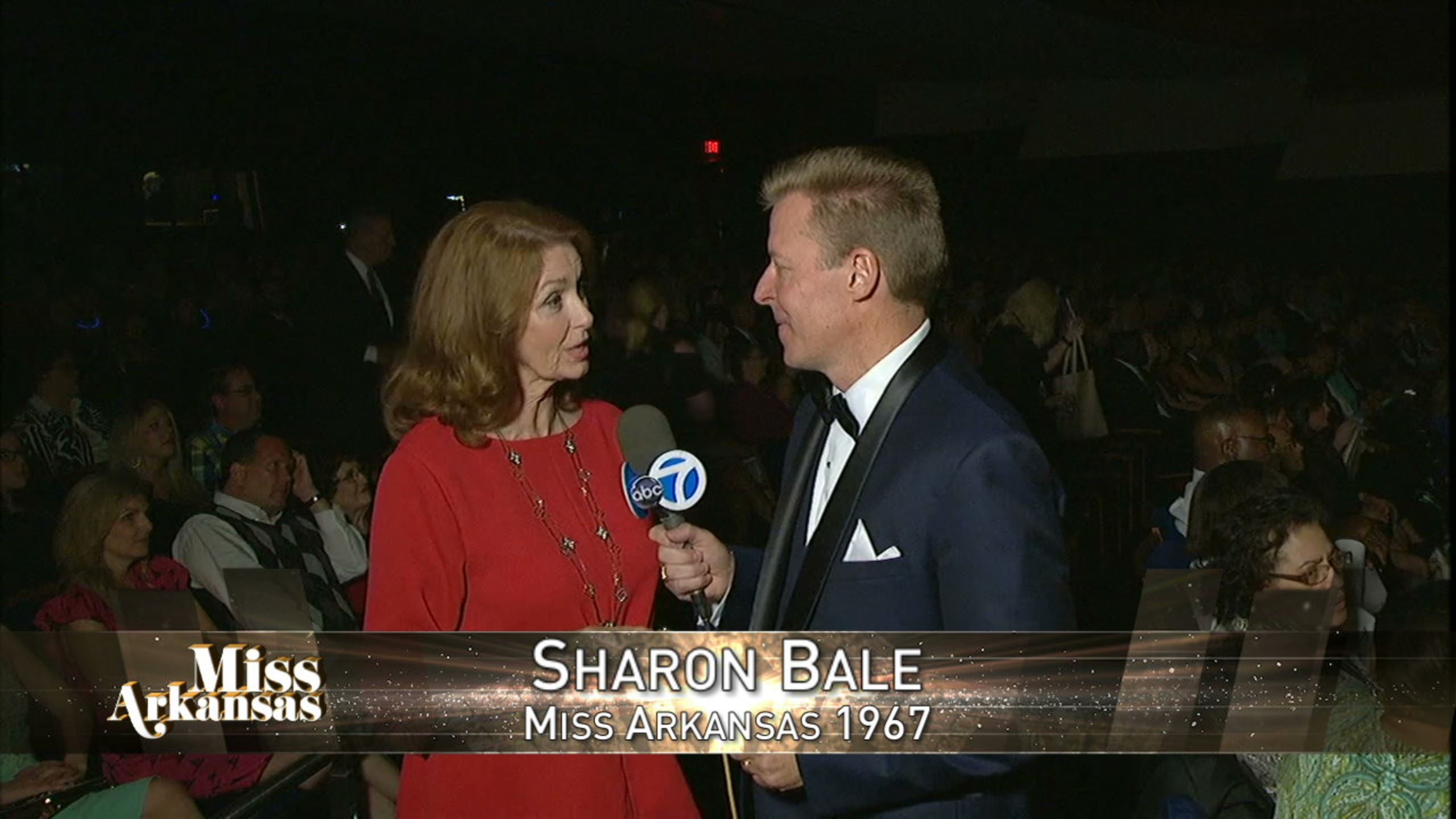 Channel 7's Jason Pederson spoke with Sharon Bale who held the Miss Arkansas title in 1967. (Photo: KATV)