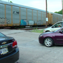 Riverside businesses frustrated by trains blocking traffic