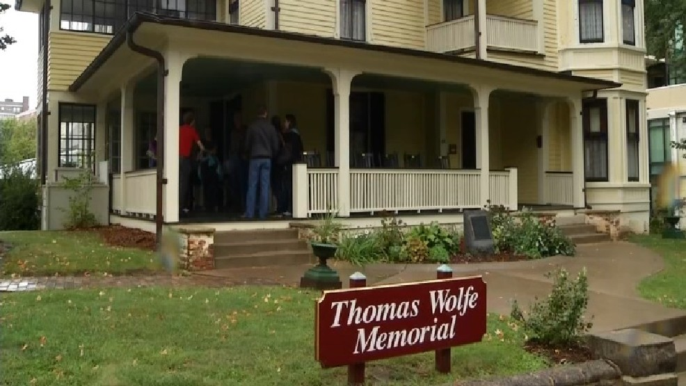 Thomas Wolfe's boyhood home has a few spirits. (Photo credit: WLOS staff)