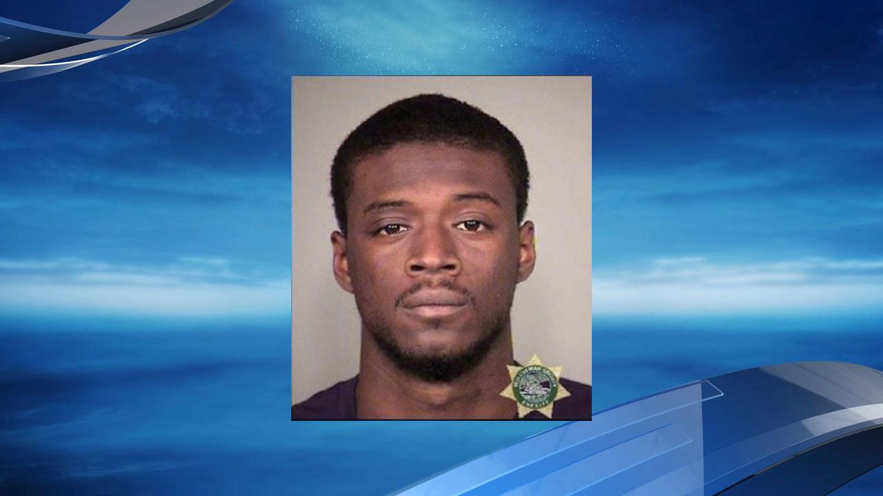 Demetrius Brown mug shot courtesy Multnomah County Jail<p></p>
