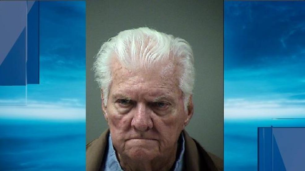 89 year old man arrested for running over woman several times