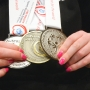 Groton girl comes home with three medals from Special Olympics