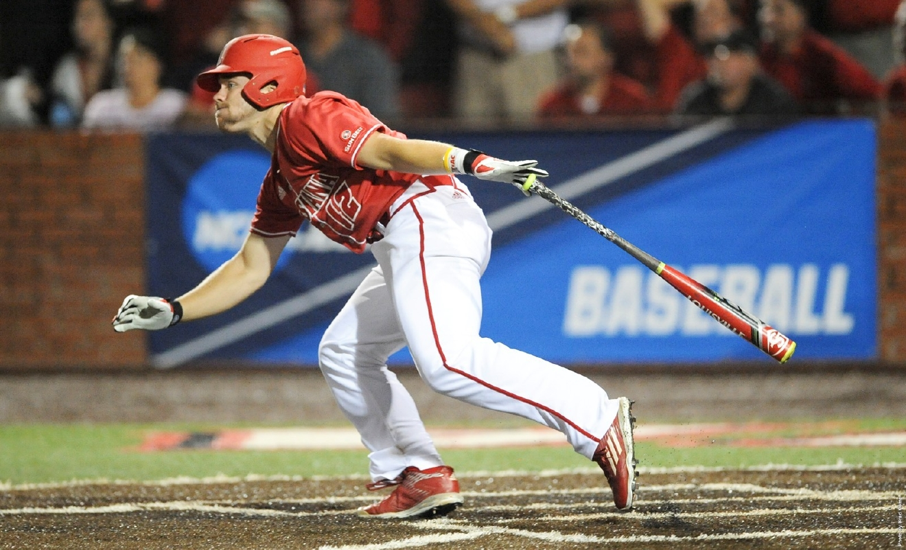 Joe Robbins led Louisiana with 10 home truns last season, batting .286 with 37 RBIs. (Photo courtesy Louisiana Ragin' Cajun Athletics)