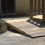Community helps build wheelchair ramp for family in Rossville