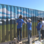 La Salle art students complete mural for the Wenas Mammoth Foundation