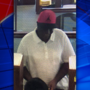 Police search for man who robbed First National Bank