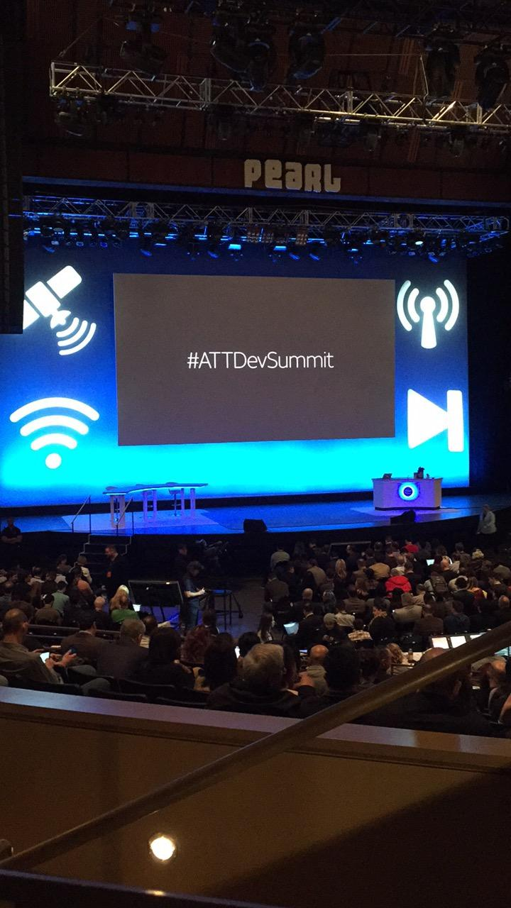 During a busy tech week in Las Vegas, AT&T held their Developer Summit at the Palms Casino Resort from Jan. 3-4, 2017. (Jami Seymore | KSNV)
