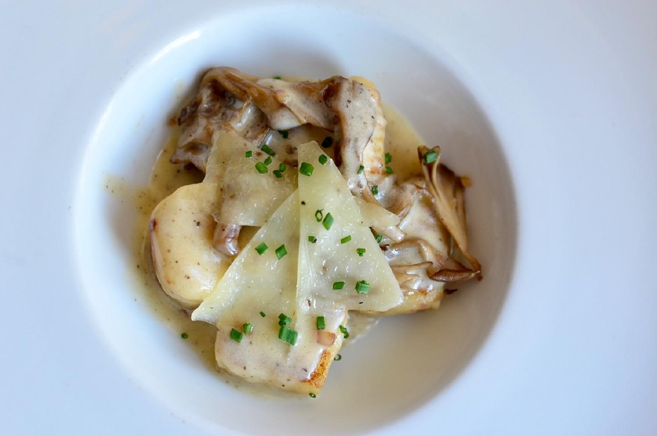 Potato Gnocchi: pecorino, truffled mushroom marsala cream / Image: Leah Zipperstein, Cincinnati Refined
