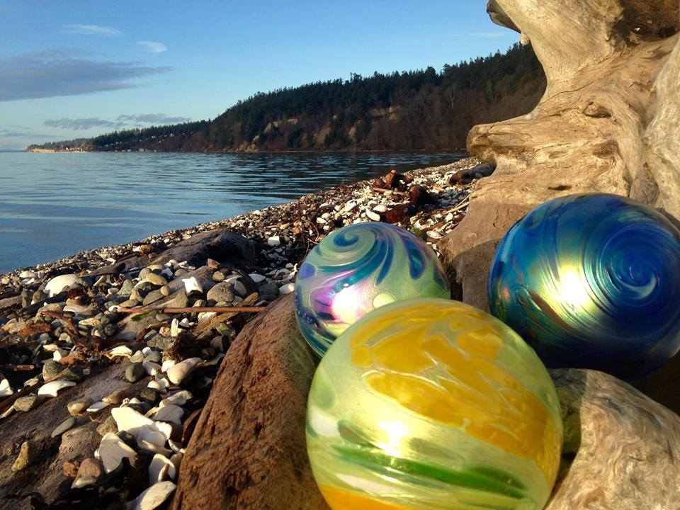 Camano Island State Park hosts over 6,700 feet of beach shoreline to explore, along with groomed hiking trails. You'll find these trails beautiful even on rainy days.