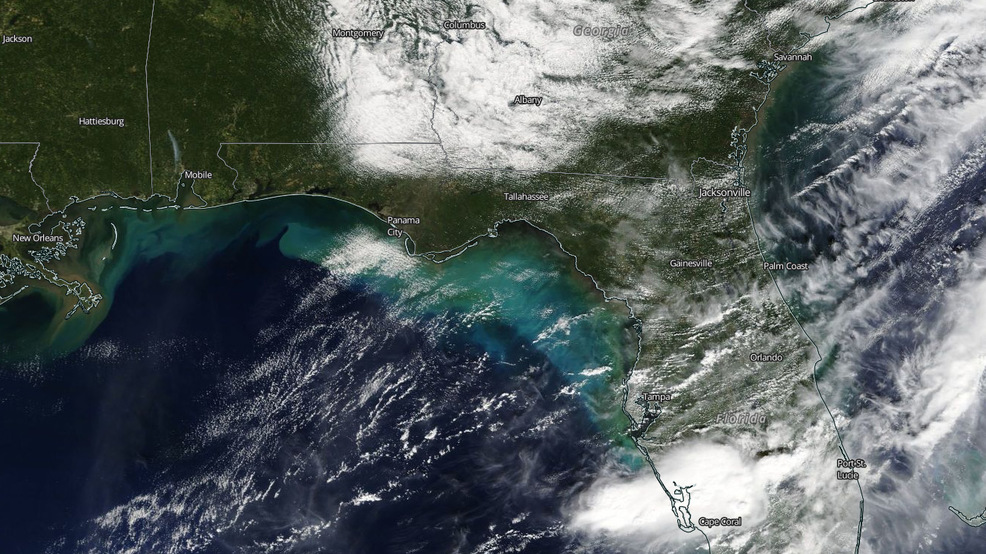 "Hurricane Michael's ocean ""blender"" effects can be seen from space"