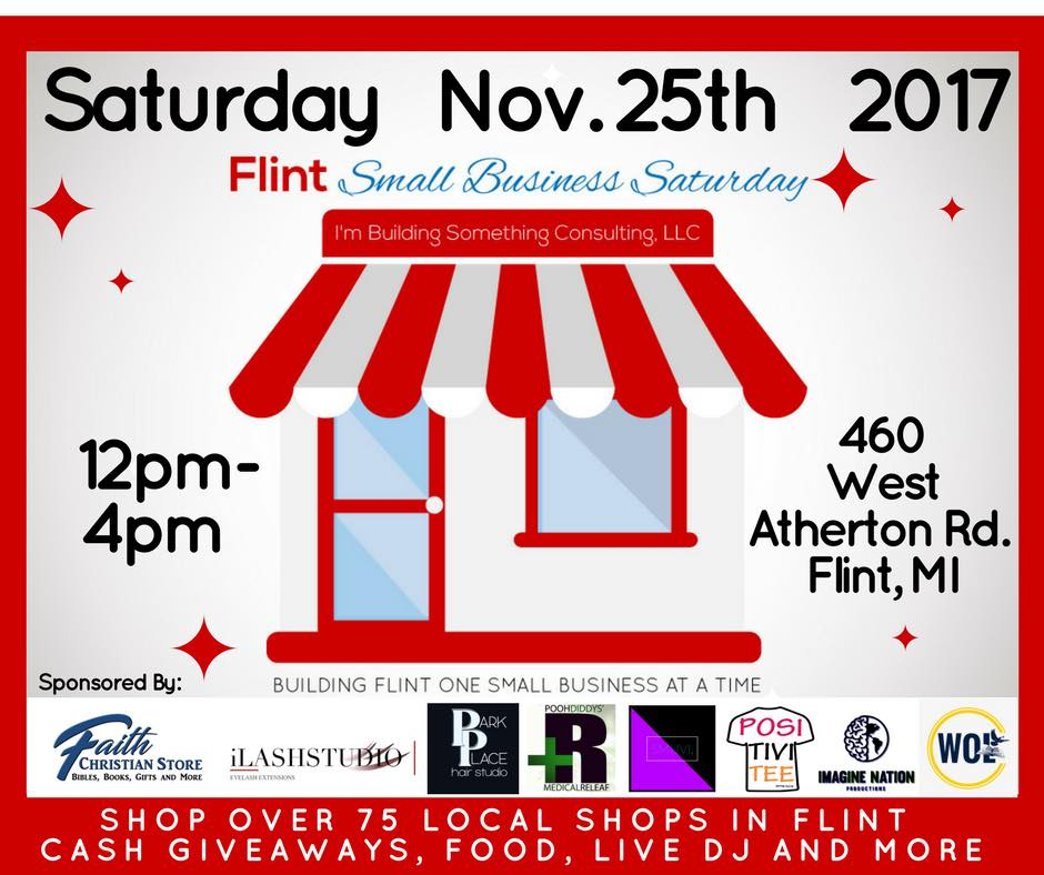More than 75 local vendors will attend Flint's Small Business Saturday event at Word of Life Church.{&amp;nbsp;}(Photo: Courtney Wheaton) <p></p>