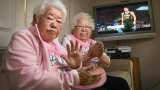 Pink Grandmas remain loyal to Jazz basketball team